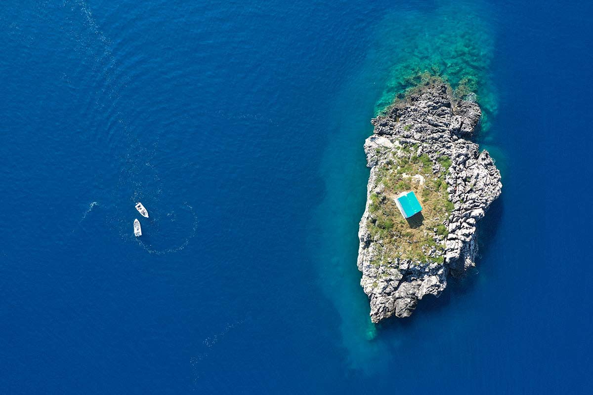 island in parga